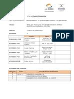 Traslado Manual de Postes de Concreto Armado Centrifugado de Media Tensión.