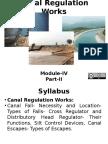 Canal Regulation Works