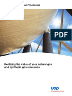 Uop Gas Processing Overview Brochure