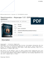 Spectrasonics – Keyscape 1.0.1 (SOUNDBANK) updated | Mac Torrent Download