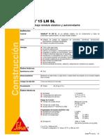 FT-5030!01!10 Sikaflex 15 LM SL