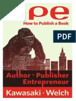 APE Author Publisher Entrepreneur