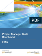 Project Manager Skills Benchmark 2015 Research Report