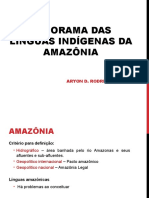 Panorama Das Línguas Indígenas Da Amazonia