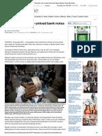 (December 13 2016 ) Venezuelan Rush to Unload Bank Notes Before Deadline _ Daily Mail Online