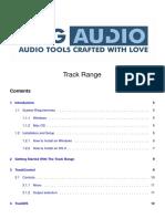 DMGAudio TrackRange Manual