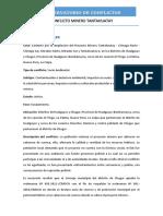 CONFLICTO MINERO TANTAHUATAY