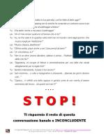 Special Report 1 Cosa Dire Appuntamento Seduzione Pratica