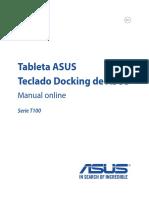 Manual Asus t100ha b