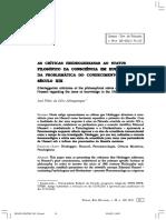 Conh. Direto (a. Exercitus) e Reflexivo (a. Signatus) Consc. de Si