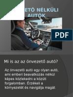 Önvezető autók