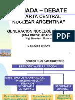 Generación Nucleoeléctrica - Una Breve Historia - Ing Bernardo Murmis