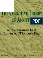 Cognitive Theory of Anxiety The