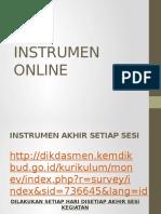 Instrumen Online
