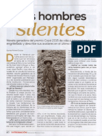 En la Ruta de los Hombres silentes - Entrevista a Juan José Cavero