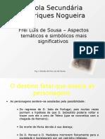 Frei Luis de Sousa - Simbologia