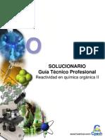 2016 TC Solucionario Guía Clase 25 Reactividad en Química Orgánica II OK