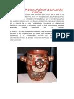 Organización Social Político de La Cultura Chincha