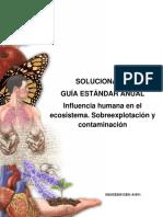 2016 Solucionario Guía 28 Influencia humana en el ecosistema  Sobreexplotación y contaminación.pdf