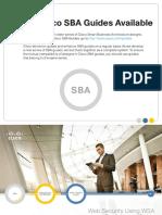 Cisco SBA BN WebSecurityUsingWSADeploymentGuide-Aug2012