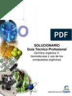 2016 TC Solucionario Guía Química Orgánica v - Biomoléculas y Uso de Los Compuestos Orgánicos OK