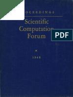 IBM Scientific Computation Forum 1948