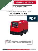 Manual de Operacion 500 Amp.