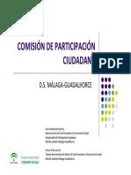 COMISIÓN DE PARTICIPACIÓN  DS. Málaga Guadalhorce