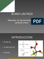 Acido Láctico