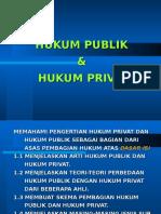 Hukum Publik Dan Hukum Privat