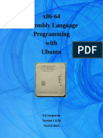 Assembly Language Programming With Ubuntu