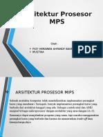 Arsitektur Prosesor MIPS