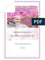 Guia de Estrategias de Apoyo en El Cancer Infantil