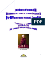 Satipatthana Vipassana Espanol