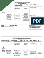 Plan de Clases Bimestral de La Asignatura de Ingles 2.1