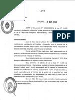 Decreto 1278 de Vidal