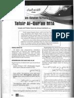 Catatan Tafsir Al Quran MTA