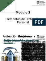 Modulo 3 Elementos de Protección Personal