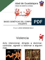 Bases Genéticas Del Comportamiento Violento