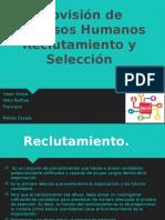 RRHH, reclutamiento y seleccion