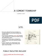 Case Study on malabar cement township