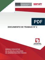 Documento de Trabajo Nro 2 2016 Servir