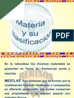 MATERIA  Y  SU CLASIFICACIÓN_sc