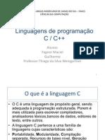 Linguagens de programação C-C++