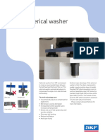 SKF Spherical Washer Brochure