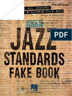 Real Jazz Standards Fake Book - Eb Edition - Hal Leonard
