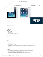 iPad 2 - Especificaciones Técnicas
