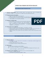 Recomendaciones Para Producir Textos Orales