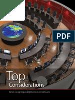 Control Room Design Considerations