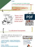 Thème 122212016-2017- Ecole et mobilité sociale.ppt